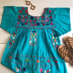 Embroidered Spanish Inspired Dress